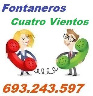 Telefono de la empresa fontaneros Cuatro Vientos